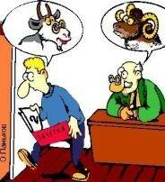 козел и баран