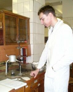 Крюков и воронка для горячего
