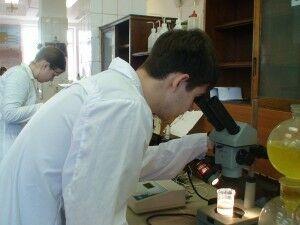 Нестеров и микроскоп