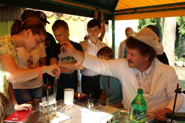 Детский лагерь МГУ: презентация спецкурса