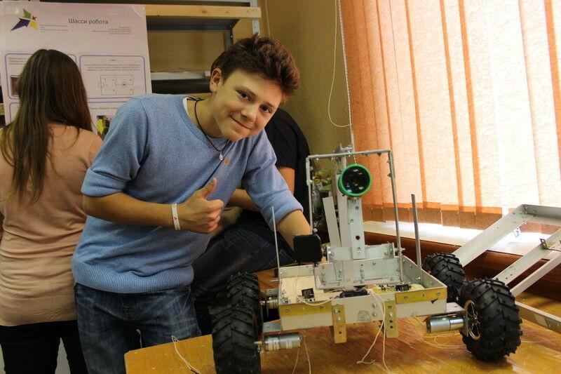 Робототехника на Летней школе