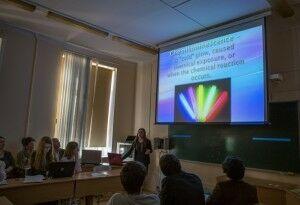 Колмогоровские чтения 2015 на кафедре гд 6