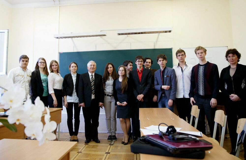 Колмогоровские чтения — 2015 на кафедре гуманитарных дисциплин СУНЦ