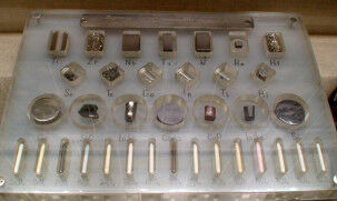 коллекция металлов