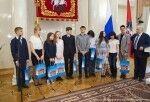Встречи в Правительстве Москвы с победителями и призерами Всероссийской олимпиады школьников