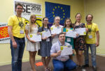 Учащиеся СУНЦ на MILSET Expo-Science Europe