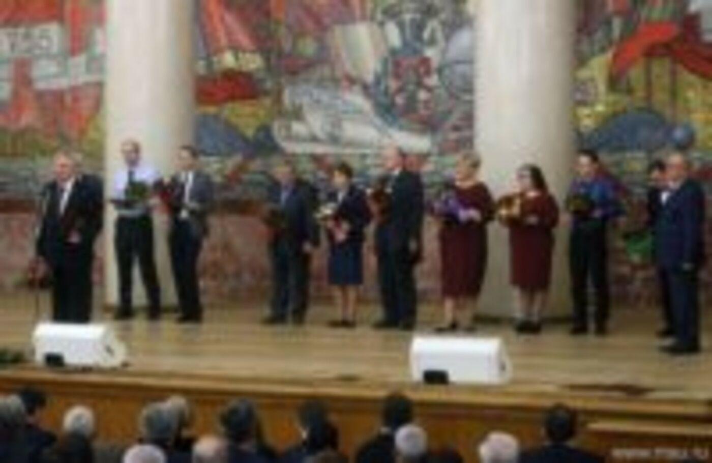 Поздравляем Юрия Валентиновича Нестеренко с премией им М.В. Ломоносова!