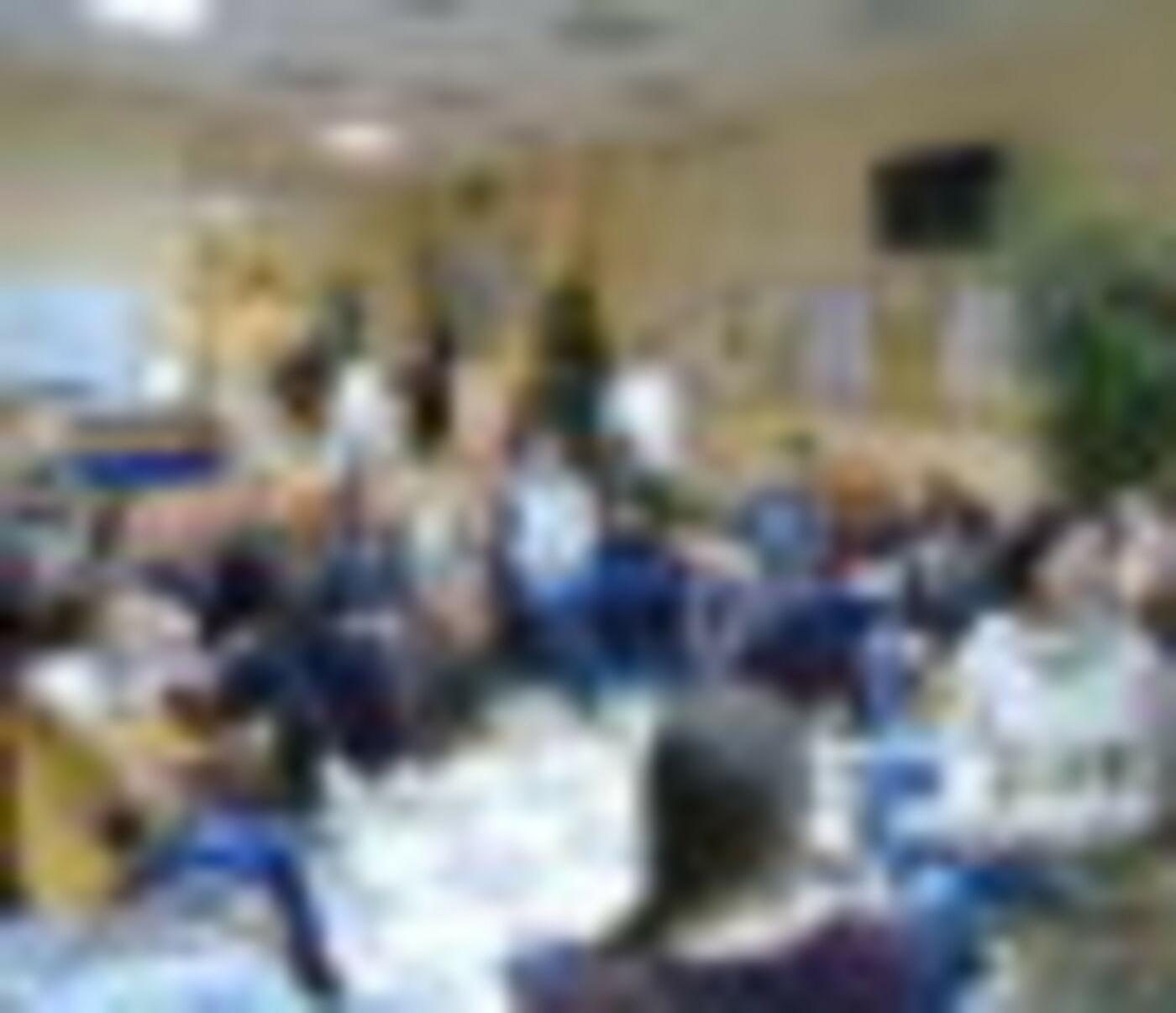 Гости из Академической гимназии им. Д.К. Фаддеева СПбГУ