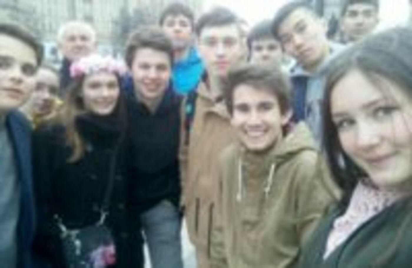 Гости из Чехии и Словакии в СУНЦ МГУ