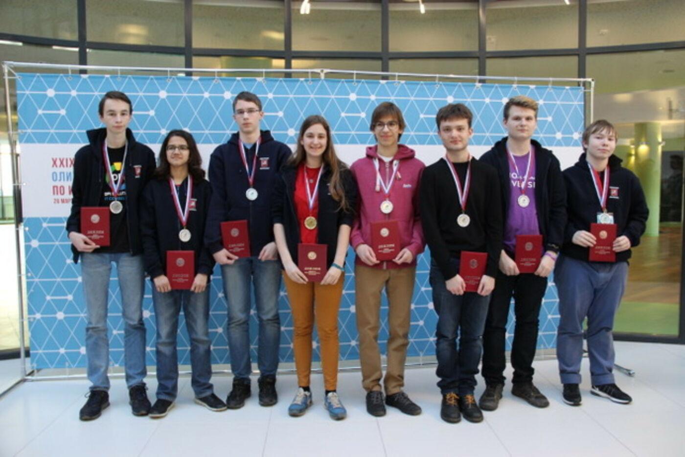 Поздравляем победителей Всероссийской олимпиады по информатике