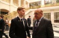 Встреча победителей и призеров олимпиад с ректором МГУ