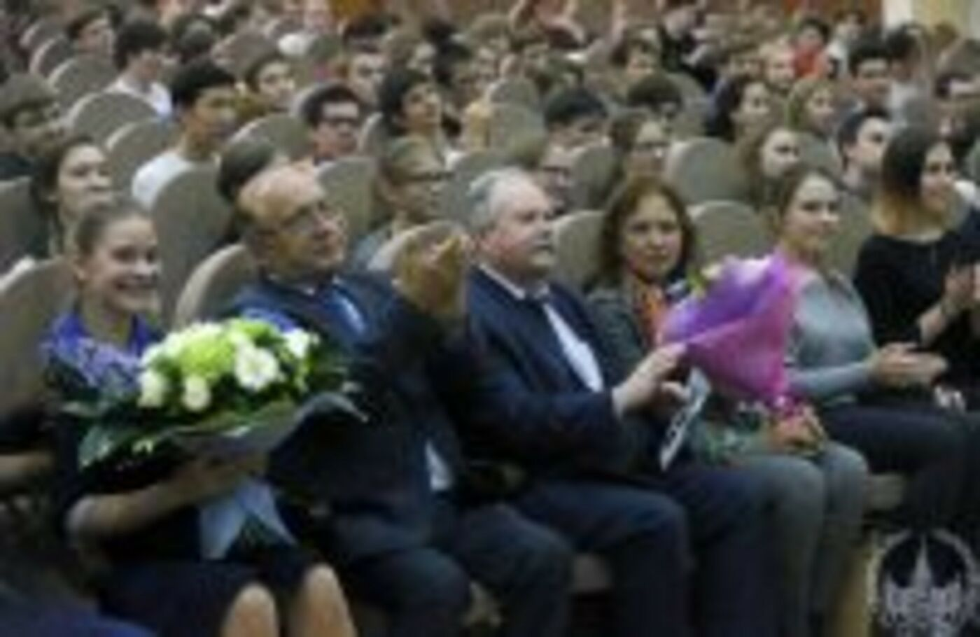 Встреча ректора МГУ со школьниками СУНЦ и Университетской гимназии