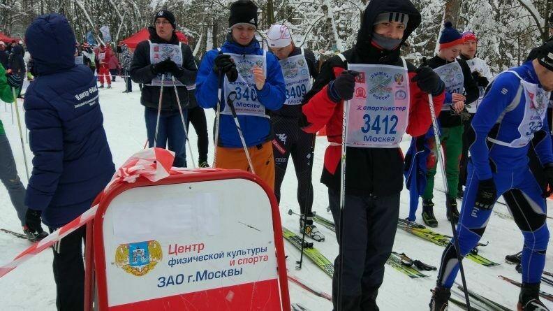 Учащиеся СУНЦ на «Лыжне России»