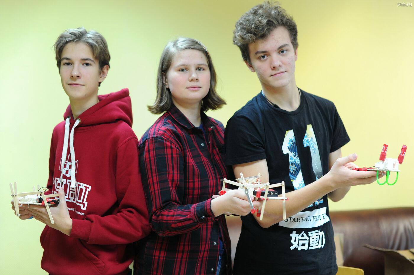 Учащиеся СУНЦ МГУ представят страну на конкурсе юных инженеров-конструкторов PowerTech 2018