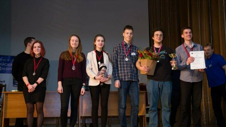Успешное выступление учащихся СУНЦ МГУ на Всероссийском турнире юных физиков