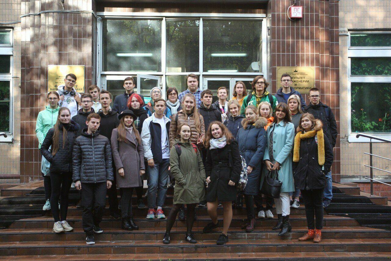 Экскурсия на факультет биоинженерии и биоинформатики МГУ