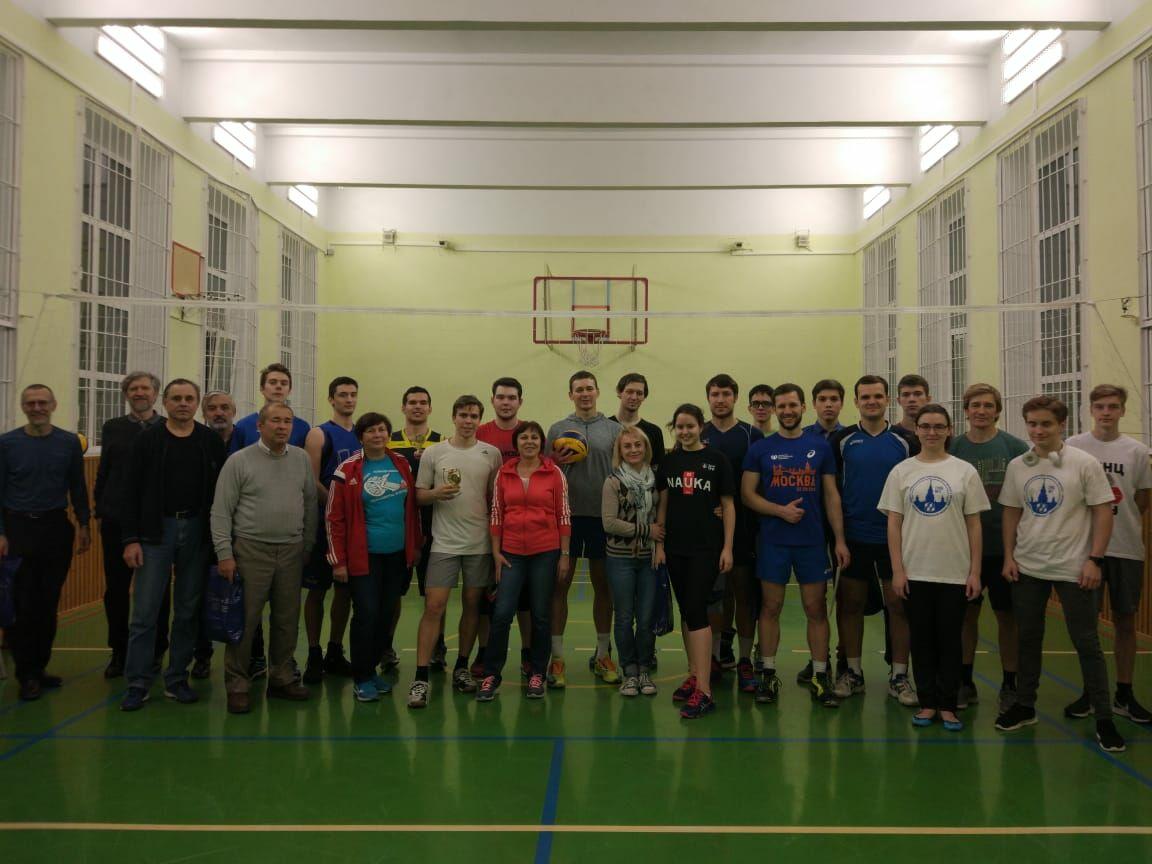 Итоги турнира по волейболу в честь 56-летия СУНЦ МГУ